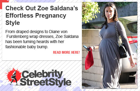 Zoe Saldana Takes Her Baby Bump And Her Husband For A Hike