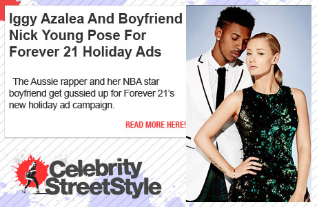Iggy Azalea Teams Up WIth Boyfriend Nick Young For Forever 21 Campaign