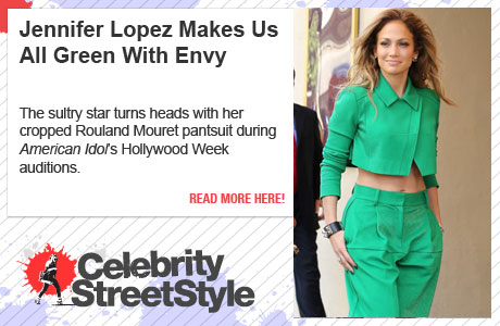 Jennifer Lopez Makes Us Green With Envy With Her Cropped Pantsuit