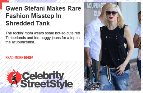 Gwen Stefani Makes Rare Fashion Misstep With Red Timberlands