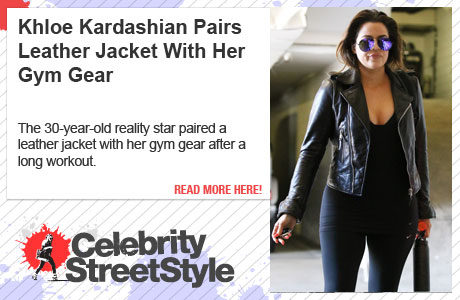 Khloe Kardashian Loves To Gear Up With Leather