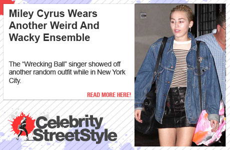 Miley Cyrus Can't Stop, Won't Stop Rocking Her Weird Wardrobe