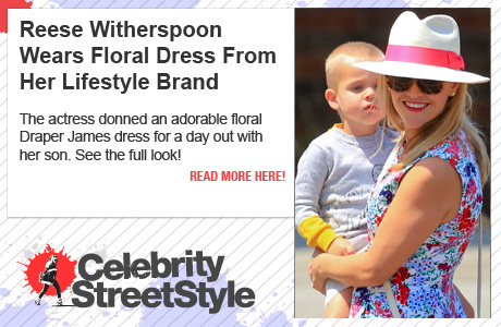 Reese Witherspoon Steps Into Summer With Draper James Dress