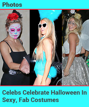 Celebs Celebrate Halloween