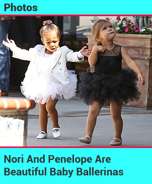 Nori and Penelope Baby Ballerinas
