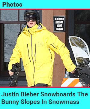 bieber snowboard