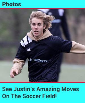 Justin soccer