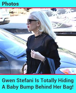 Gwen Stefani's Baby Bump!