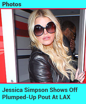Check Out Jessica Simpson's Plumped-Up Pout!