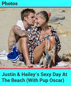 Justin Hailey beach