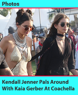 Kendall Jenner And Kaia Crawford Strut Their Stuff At Coachella