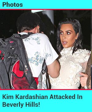 Kim K Attacked In Beverly Hills