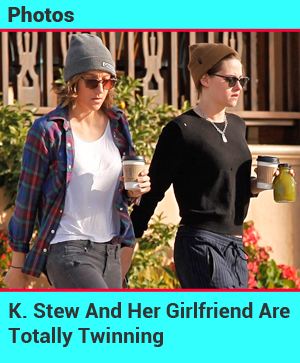Kristen Stewart And Girlfriend Alicia Cargile Are Totally Twinning
