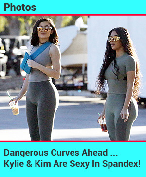 kim and kylie spandex