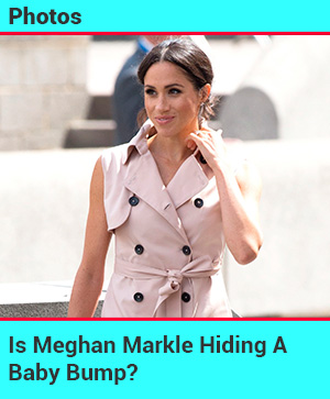 Is Meghan Markle Hiding A Baby Bump?