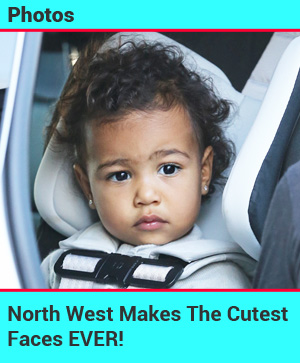 North West Makes The Cutest Faces EVER!
