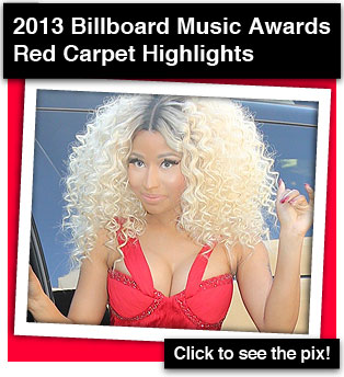 2013 Billboard Music Awards Red Carpet Highlights