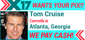 Tom Cruise in Atlanta